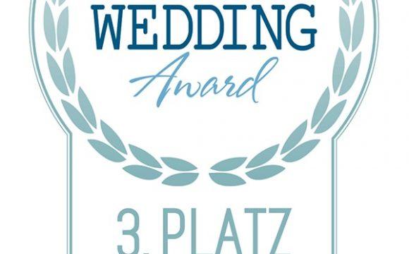 Dritter beim Austrian Wedding Award